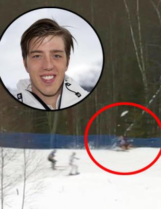 Her forsvinner svenskens medaljeh�p til skogs: - Jeg var livredd. Jeg kunne brukket ryggen