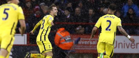 18-�ring rystet Tottenham i ligacupen. S� dukket Christian Eriksen opp