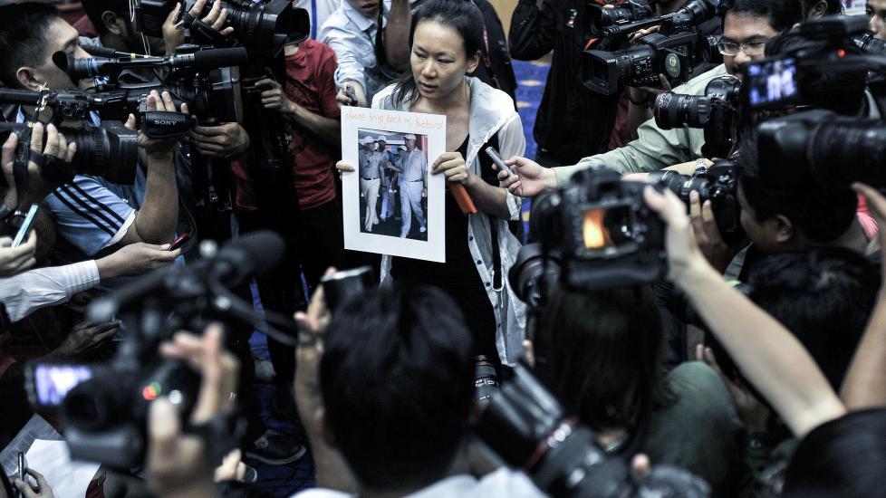 239 mennesker ble borte på vei til Beijing.