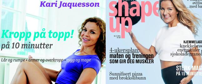 Kari Jaquesson kritiseres for eget bokomslag