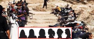 Terroristenes heiajenter blir stadig farligere: Legger ut bilder av grov vold OG MAT