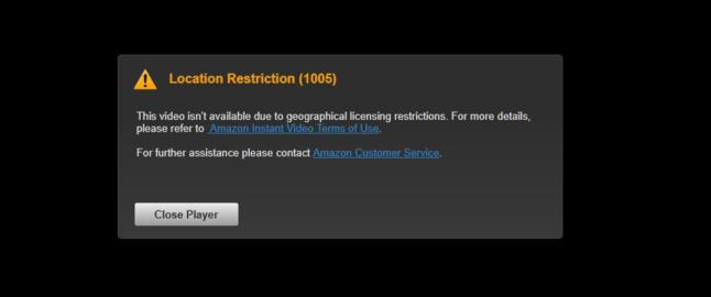 M� du melde flytting for � f� se video p� Amazon?