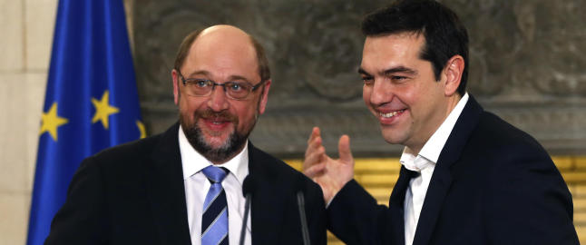 ��pen og konstruktiv�, alts� krangel mellom EU og Hellas