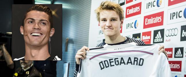 - Ronaldo �nsker � utvikle Martin til � bli en superstjerne
