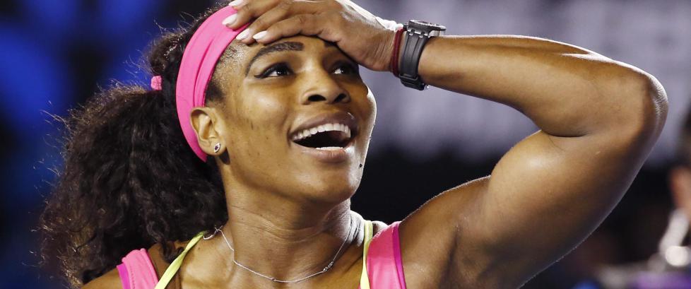 Williams servet 18 ess og vant Australian Open