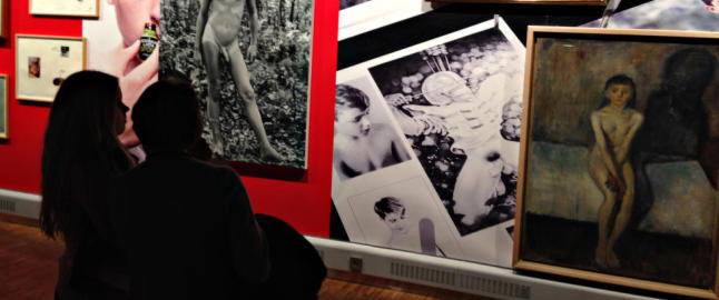 Slik m�ter Melgaard Munchs nakne pubertet
