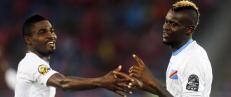Republikken Kongo ledet 2-0. S� snudde Kongo til 4-2