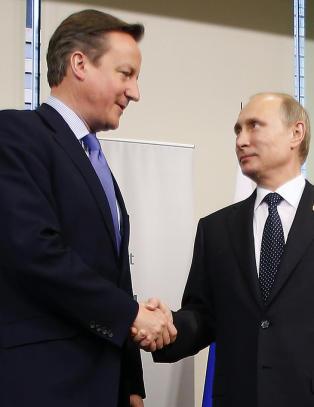 Britene misliker Russland mest