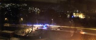 Oslo-politiet leter etter mann etter bilbrann