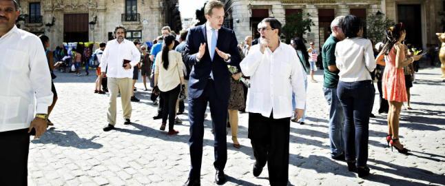 Første norske utenriksminister på Cuba