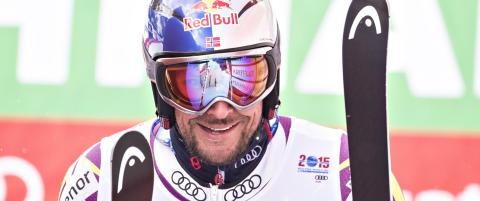 Aksel Lund Svindal stiller til start i VM: - Han er en medaljekandidat