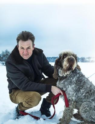 Fredrik Skavlan (48) er redd for � bli gammel i talkshowstolen