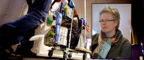 Sl�r vaskealarm: - Frykter for sikkerheten i Norges hemmeligste lokaler