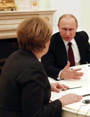 Bare Merkel kan temme Putin