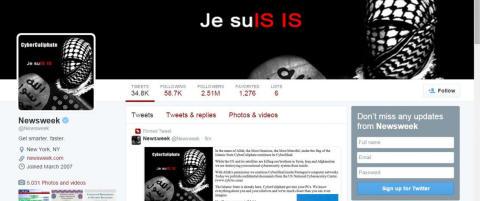 Cyberkrigen tilspisser seg - IS-sympatis�rer sl�r tilbake