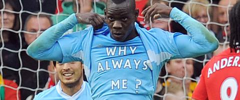 Mario Balotelli p� godt og vondt