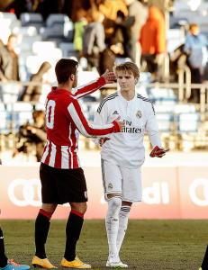 �degaard n�r matchvinnerscoring for Castilla
