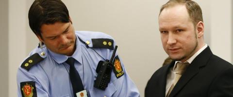 Mener Breivik m� leve under trusselregime