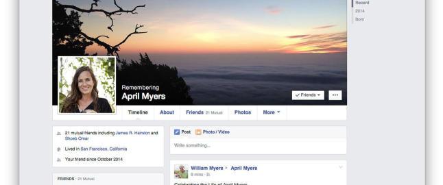 N� kan du velge hvem som skal arve Facebook-kontoen din n�r du d�r