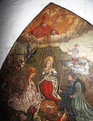 Oppdaget helt tilfeldig Gents st�rste attraksjon bak et lag med maling i det gamle slakterhuset
