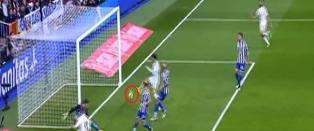 Utrolig nok s� scoret ikke Ronaldo her