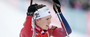 De norske skiskytterjentene ble hakket for sm� i Kollen