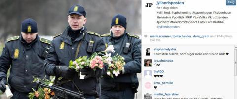 Se rosebildet som r�rer danskene til t�rer