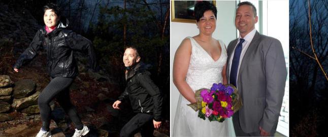 Eva og J�rn slanket vekk 20 kilo hver