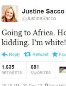 En d�rlig sp�k p� Twitter og Sacco v�knet opp til sitt livs verste mareritt