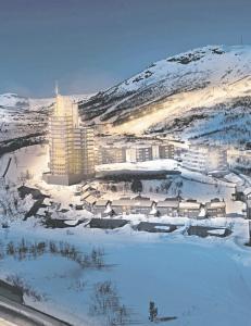 Vil bygge �skyskraper� i Kvitfjell