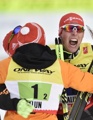 VM-stjernen slakter publikum i Falun: - Hjertene v�re bl�r