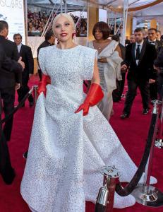 �Oppvaskhanskene� til Gaga g�r nettet rundt