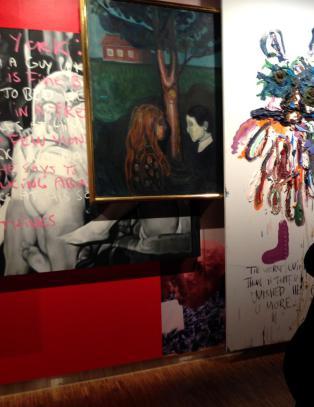 �Munch hadde nok satt pris p� denne hestekuren�