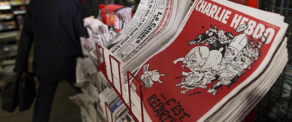 Skal ikke selge den nye �Charlie Hebdo�-utgaven i Norge