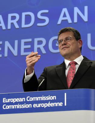 EU legger felleskj�p av gass p� is
