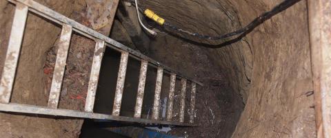 Politiet fant mystisk tunnel, men fatter ikke hva den er brukt til
