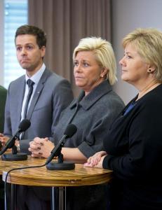 N� m� regjeringen Solberg pr�ve � inng� en ikkeangrepspakt
