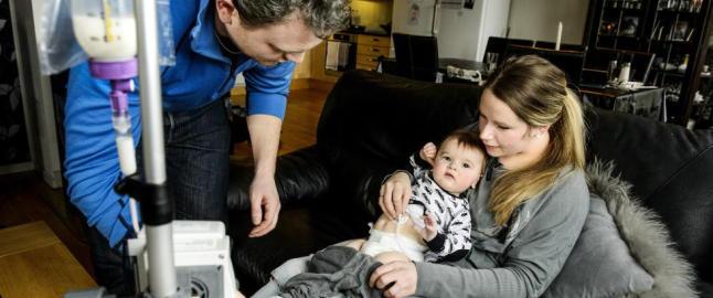 Sm�barnsfamilie fortviler etter � ha sett konsekvensene av den stengte barneavdelingen