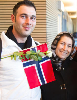 - Endelig i Norge og trygg fra krigen