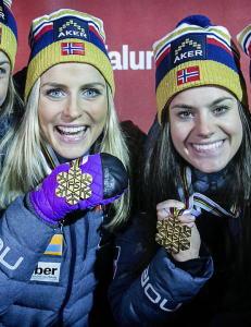 - Med det niv�et vi jentene er p� n�, taper vi ikke mot Sverige om vi har like gode ski