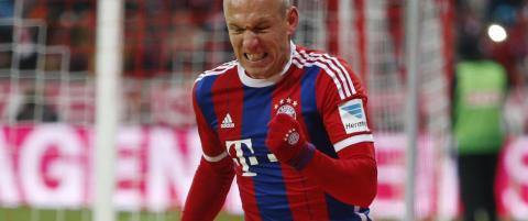Robben i kalasform scoret sitt syvende p� fem kamper da Bayern vant