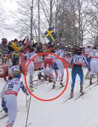 To Kalla-fall og svenskene fortviler: - Ajajaj, hon ramlar igjen