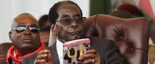 Mugabe feiret 91-�rsdag, brukte 7,6 millioner