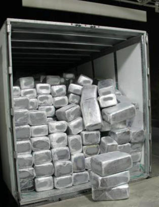 Her har grensevaktene beslaglagt marihuana verdt 145 millioner kroner