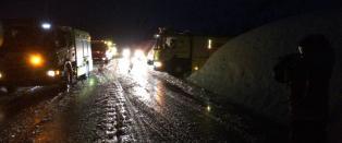 11 personer reddet ut fra sn�ras i Hordaland
