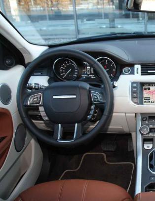TEST: Range Rover Evoque med 9-trinns automat