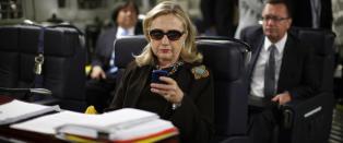 Hillary p� Twitter: - Jeg vil at offentligheten skal se e-postene