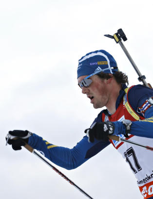 De svenske skiskyttere mangler gev�rene sine - to dager f�r VM