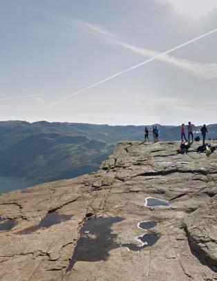 Fra n� kan du nyte en av Norges mest popul�re utsikter fra hele verden