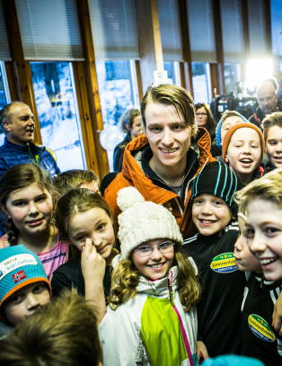 Velta hyllet: - Han er Norges store overraskende s�nn